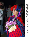 Small photo of GUATEMALA - July 30, 201- The national folk festival of Cobán Alta Verapaz. Rabin Ajaw The Daughter of the King, National Indigenous Queen, Guatemala. Editorial