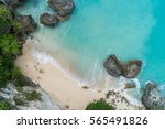 top aerial view of impossible... | Shutterstock . vector #565491826