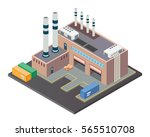 modern isometric industrial...   Shutterstock .eps vector #565510708
