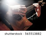 Guitarist Playing With His...