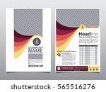 brochure  flyer  leaflet ... | Shutterstock .eps vector #565516276