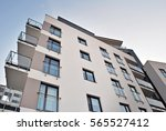 modern apartment building | Shutterstock . vector #565527412