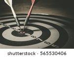ready for firing a target ... | Shutterstock . vector #565530406