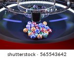 Colourful Lottery Balls In A...