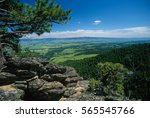 Ultra Wide Angle Landscape Of...