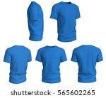 set of man cyan t shirts design ... | Shutterstock . vector #565602265