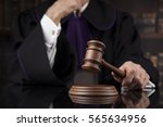 judge  male judge in a... | Shutterstock . vector #565634956
