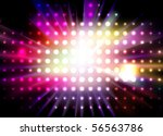 vector lights | Shutterstock .eps vector #56563786