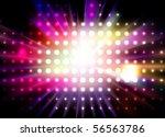 vector lights | Shutterstock .eps vector #56563786