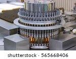 pharmaceutical optical ampule... | Shutterstock . vector #565668406