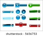 vector buttons design elements | Shutterstock .eps vector #5656753