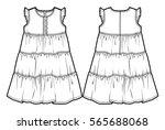Tech Sketch Of A Summer Dress...