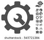 service tools pictograph with... | Shutterstock .eps vector #565721386