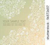 floral background | Shutterstock .eps vector #56572657