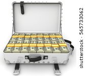 Suitcase Full Of Money. A...