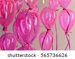Colour Balloons On White...