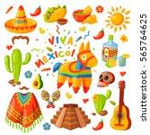 Mexico Icons Carnival Holidays...