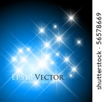 blue fantasy background  ... | Shutterstock .eps vector #56578669