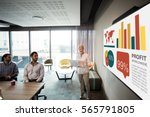 graphic image of business... | Shutterstock . vector #565791805