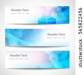 vector banner abstract... | Shutterstock .eps vector #565822456
