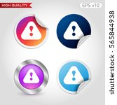 colored icon or button of... | Shutterstock .eps vector #565844938