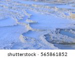 Dried Travertine Pools And...