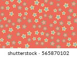 seamless texture of chaotic... | Shutterstock .eps vector #565870102