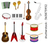 musical instruments  accordion  ...   Shutterstock .eps vector #565875952
