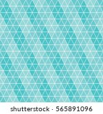 geometric abstract vector blue... | Shutterstock .eps vector #565891096
