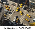 new york city  usa   nov 08 ... | Shutterstock . vector #565895422