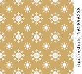 christmas snowflakes seamless... | Shutterstock . vector #565896238