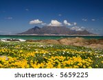 table mountain cape town | Shutterstock . vector #5659225