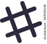 hashtag vector icon