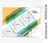 business brochure design | Shutterstock .eps vector #565931236