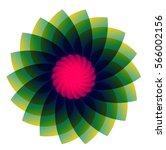 flower design | Shutterstock .eps vector #566002156