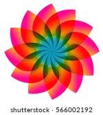 flower design | Shutterstock .eps vector #566002192