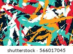 seamless pattern from color... | Shutterstock .eps vector #566017045