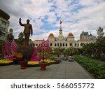 ho chi minh city  vietnam   jan ... | Shutterstock . vector #566055772