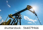 Oil Field With Pump Jack ...