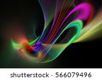 Abstract Red  Purple  Green An...