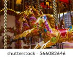 Carousel Horses With...