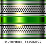 silver metal background  shiny... | Shutterstock .eps vector #566083972