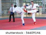valencia  spain   june 8 ... | Shutterstock . vector #56609146