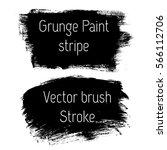 set of grunge vector texture... | Shutterstock .eps vector #566112706