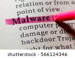 Small photo of Fake Dictionary, Dictionary definition of the word Malware. including key descriptive words.