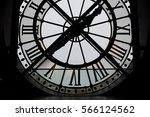 Large backlit clock