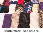colorful stylish panties... | Shutterstock . vector #566128576