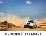 Small photo of TERUEL, SPAIN - JUL 23 : Polish driver Marcin Lukaszewski and his codriver Magdalena Duhanik-Persson in a BMW X1 Proto race in the XXXIII Baja Spain, on Jul 23, 2016 in Teruel, Spain.