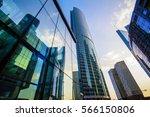 high rise buildings of moscow... | Shutterstock . vector #566150806