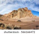 Colorful Mesa At Red Rock...